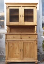 b104 schmales k chenbuffet fichtenholzm bel aus altem holz. Black Bedroom Furniture Sets. Home Design Ideas