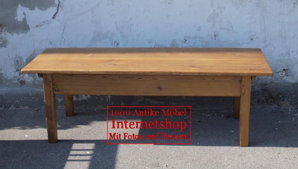 tisch tische restaurierter orginaler antiker alter couchtisch fichte massivholz alte antike. Black Bedroom Furniture Sets. Home Design Ideas