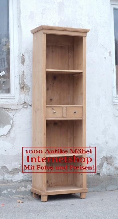 pre2s 55 cm langes bauernregal b cherregal aus fichtenholz. Black Bedroom Furniture Sets. Home Design Ideas
