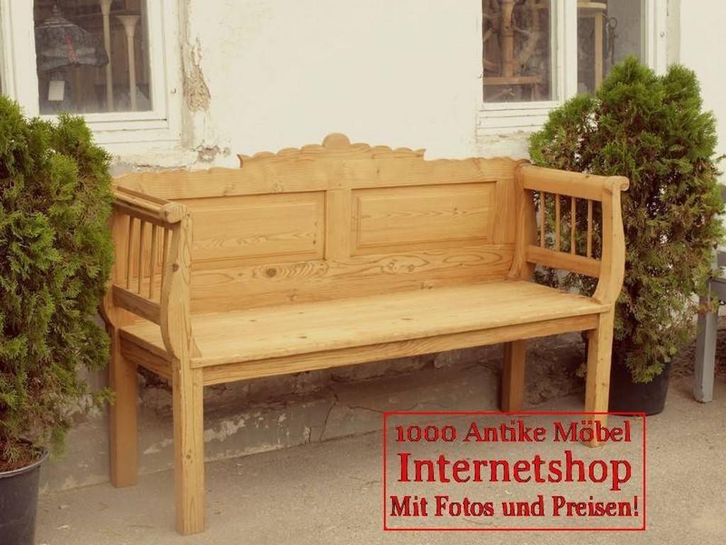 bank b nke antike truhenbank weicholz sitzbank. Black Bedroom Furniture Sets. Home Design Ideas