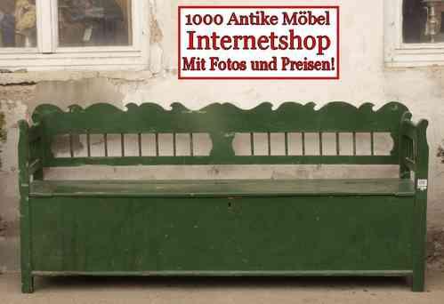 alte antike sitzbank truhenbank fichte alte antike bauernm bel internetverkauf. Black Bedroom Furniture Sets. Home Design Ideas