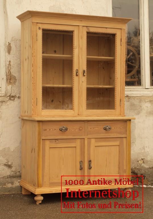 altes antikes k chenb fett k chenschrank bauernb fett b fett fichte geschirrschrank alte. Black Bedroom Furniture Sets. Home Design Ideas