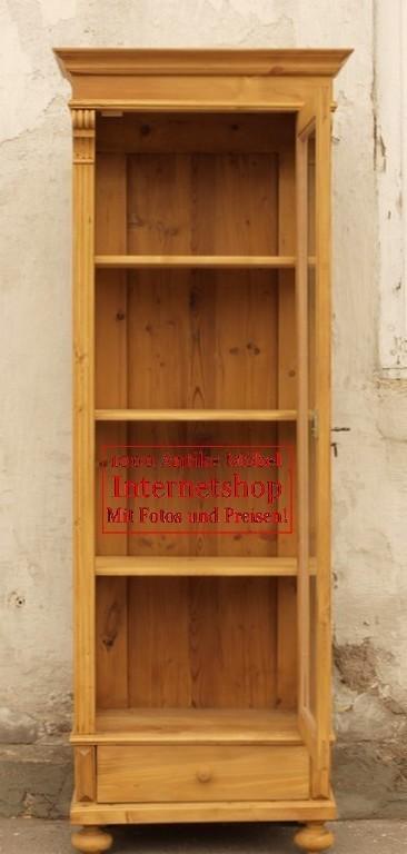 alte antike vitrine vitrinenschrank bauernvitrine. Black Bedroom Furniture Sets. Home Design Ideas