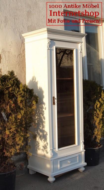 alte antike shabby chic vitrine vitrinenschrank bauernvitrine weichholzm bel fichtenholz alte. Black Bedroom Furniture Sets. Home Design Ideas