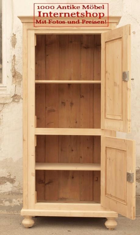 kleiderschr nke antiker kleiner kleiderschrank bauernm bel alter bauernschrank weichholzm bel. Black Bedroom Furniture Sets. Home Design Ideas
