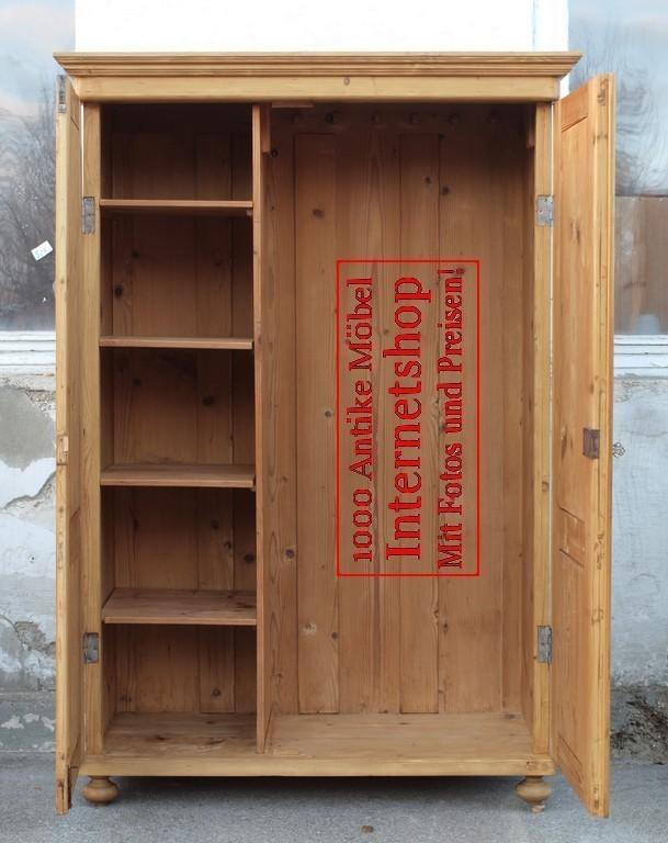 alter antiker kleiderschrank bauernschrank. Black Bedroom Furniture Sets. Home Design Ideas