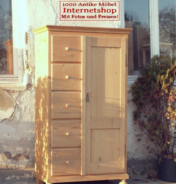 alter antiker bauernschrank brotschrank sog almer k chenschrank fichtenholzm bel alte antike. Black Bedroom Furniture Sets. Home Design Ideas