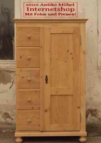 alter brotschrank kommode bauernkommode k chenschrank geschirrschrank highboard schrank fichte. Black Bedroom Furniture Sets. Home Design Ideas