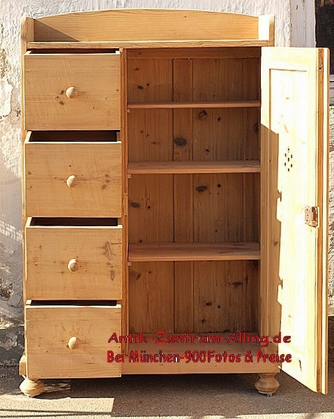 alter antiker brotschrank k chenschrank fichtenholzm bel alte antike bauernm bel internetverkauf. Black Bedroom Furniture Sets. Home Design Ideas