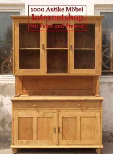 k chenbuffet k chenschrank mit s ule antik alte antike. Black Bedroom Furniture Sets. Home Design Ideas