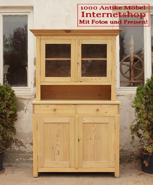 k chenschr nke altes bauern b ffet antiker k chenschrank bauernm bel massivholz fichten holz. Black Bedroom Furniture Sets. Home Design Ideas