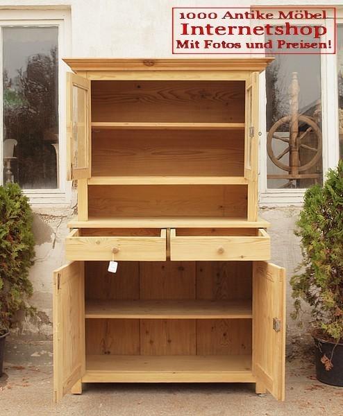 kuchenschranke holz : ... B?ffet antiker K?chenschrank Bauernm?bel Massivholz Fichten Holz