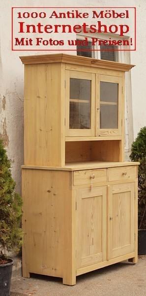 k chenschr nke altes bauern b ffet antiker k chenschrank bauernm bel massivholz fichten holz. Black Bedroom Furniture Sets. Home Design Ideas