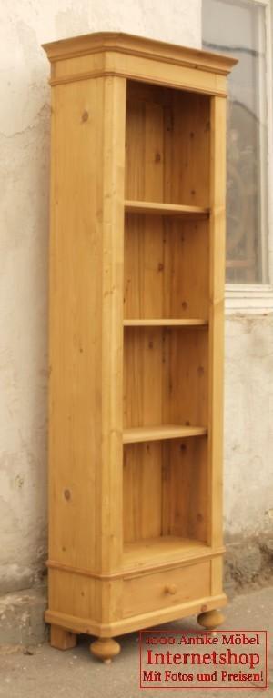 regal bauernregal b cherregal bauernm bel fichte nachbau aus altem. Black Bedroom Furniture Sets. Home Design Ideas