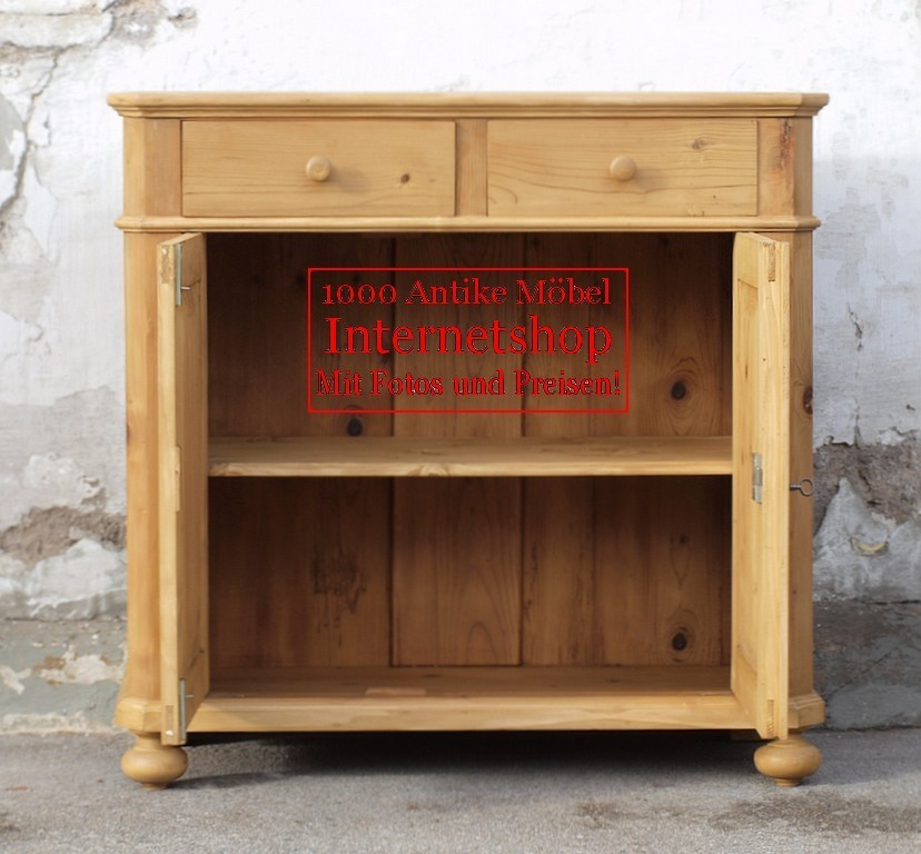 anrichte sideboard kommode bauernm bel massivholzm bel fichtenholz alte antike bauernm bel. Black Bedroom Furniture Sets. Home Design Ideas