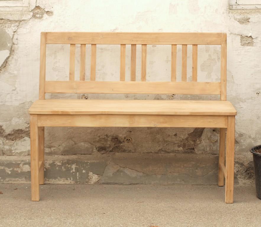 110 cm sitzbank gartenbank holzbank fichtenbank bank. Black Bedroom Furniture Sets. Home Design Ideas