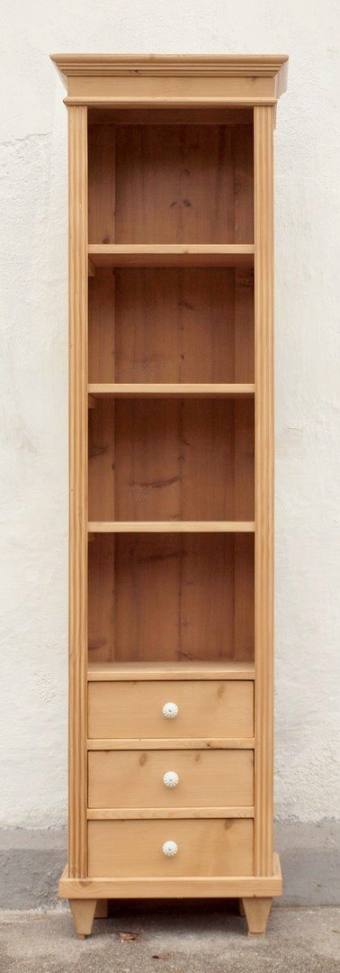 regal bauernregal b cherregal mit schubladen nachbau aus altem holz. Black Bedroom Furniture Sets. Home Design Ideas