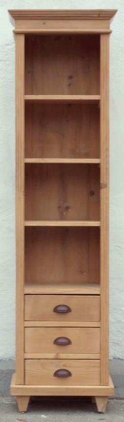 Bauernmöbel Landhausmöbel Weichholzmöbel Massivholzmöbel  ~ Bücherregal Alt