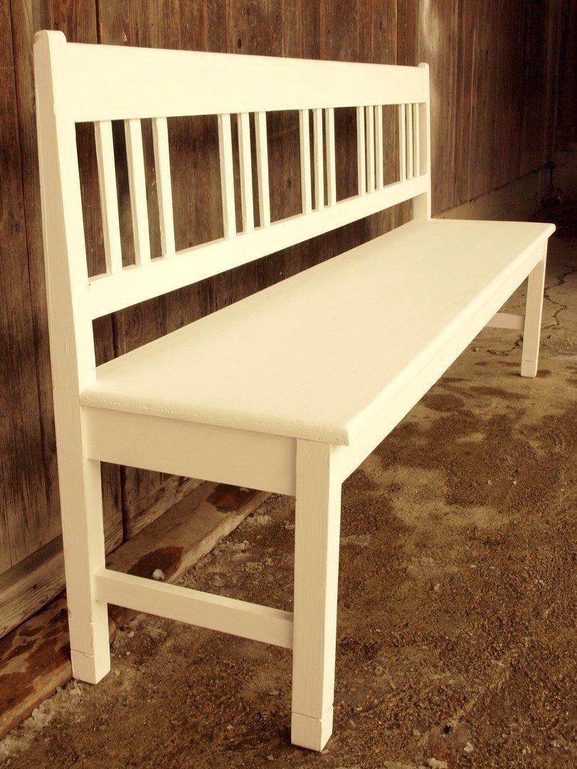 200 cm gartenbank shabby chic massivholz fichtenbank bauernbank alte antike bauernm bel. Black Bedroom Furniture Sets. Home Design Ideas