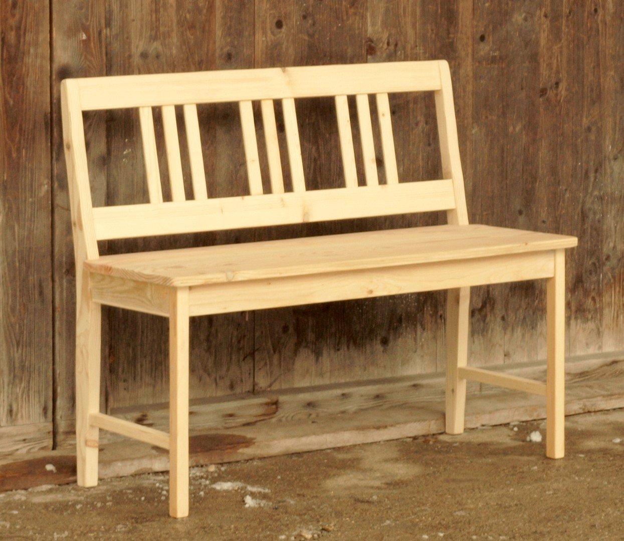 110 cm massive fichtenholz sitzbank bank alte antike bauernm bel internetverkauf. Black Bedroom Furniture Sets. Home Design Ideas