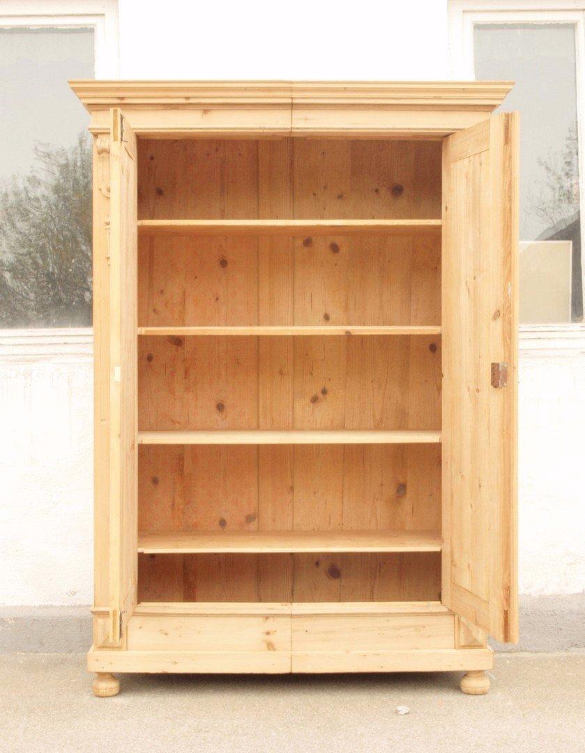 alter restaurierter bauernschrank bauernm bel um 1900 in fichtenholz alte antike bauernm bel. Black Bedroom Furniture Sets. Home Design Ideas