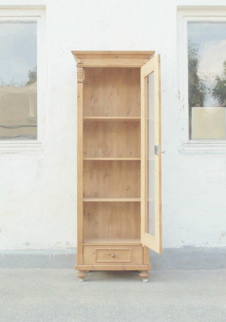 vitrine im gr nderzeitstil aus altem holz gefertigt nachbau aus altem holz alte antike. Black Bedroom Furniture Sets. Home Design Ideas