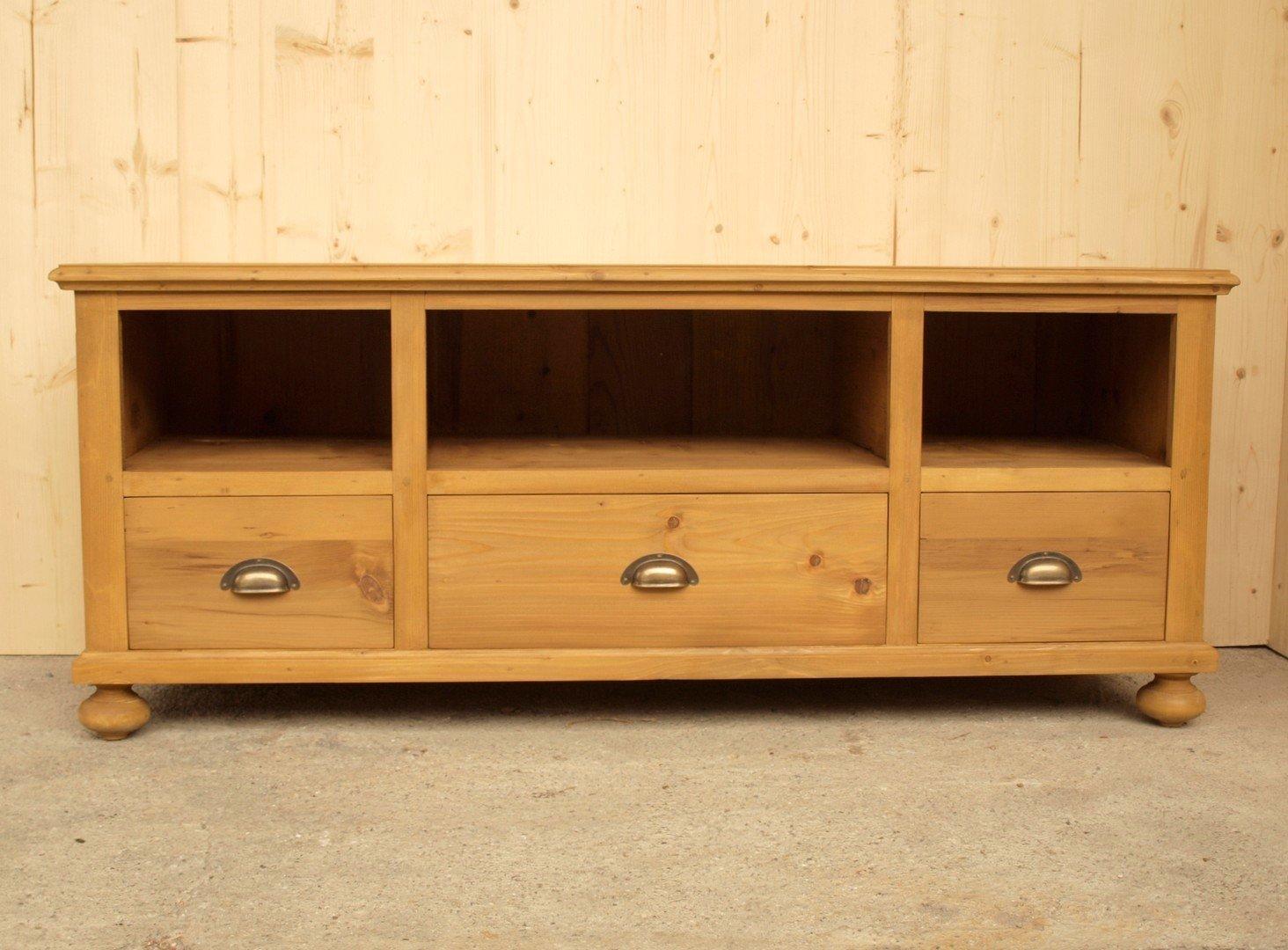 Fernsehschrank Massivholzmöbel Fichte Nachbau aus altem ...