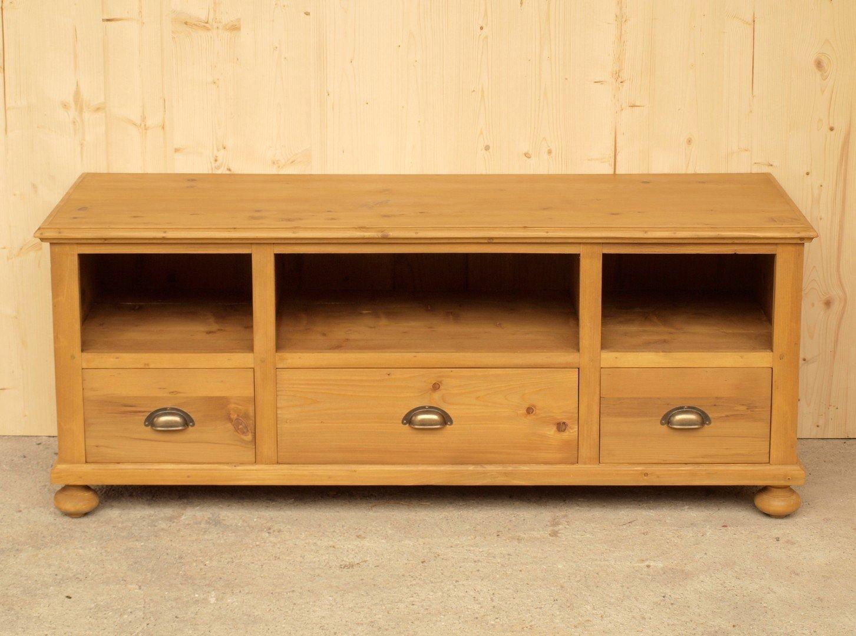 fernsehunterschrank massivholzm bel aus fichte neuanfertigung. Black Bedroom Furniture Sets. Home Design Ideas