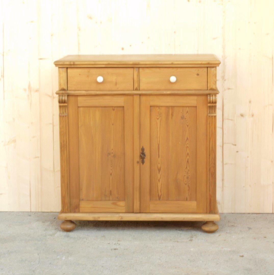 a085 anrichte 85cm lange kommode bauernm bel aus massivem. Black Bedroom Furniture Sets. Home Design Ideas