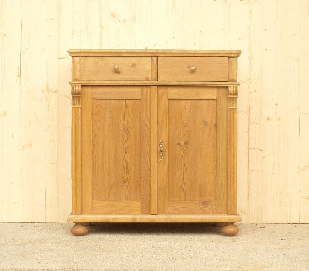 a085 anrichte 85cm lange kommode bauernm bel massive. Black Bedroom Furniture Sets. Home Design Ideas