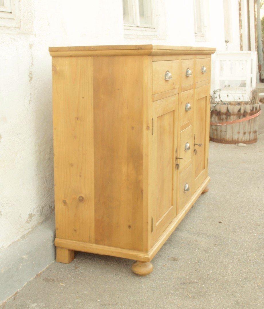 a139s anrichte 138 cm lange kommode bauernkommode. Black Bedroom Furniture Sets. Home Design Ideas