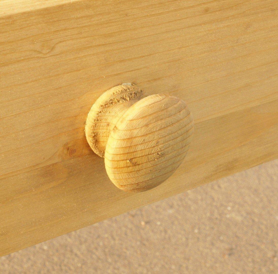 Esstisch Tisch Massivholz Fichte 219 x 86 cm Nachbau  ~ Esstisch Fichte