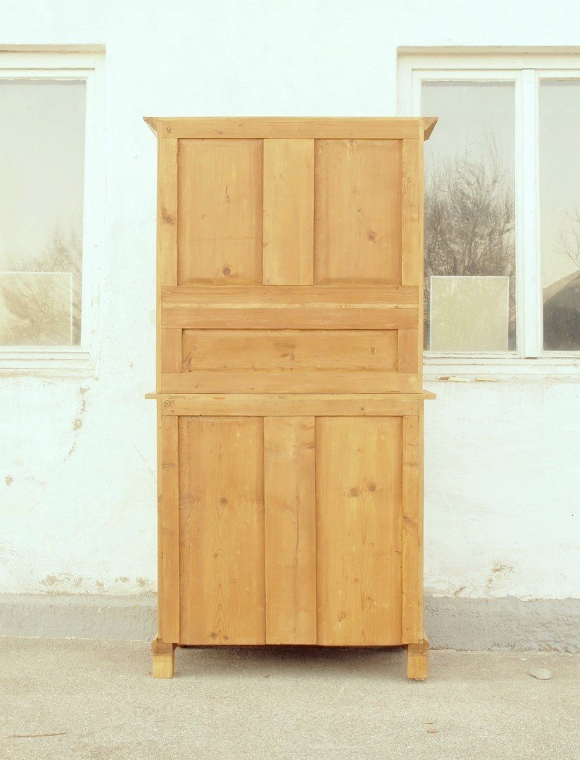 b100 bufett b fett buffet geschirrschrank anrichte k chenschrank nachbau aus altem holz 100 cm. Black Bedroom Furniture Sets. Home Design Ideas