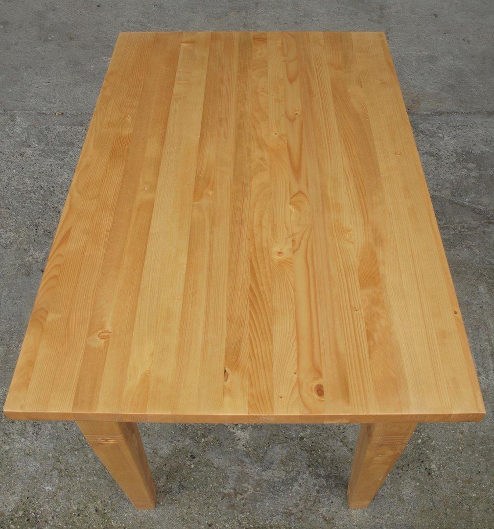 Esstisch tisch massivholz fichte 120 x 80 cm nachbau for Esstisch 80 cm breit