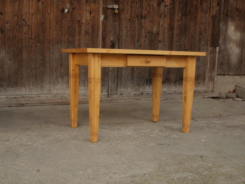 Esstisch Tisch Massivholz Fichte 120 x 80 cm Nachbau