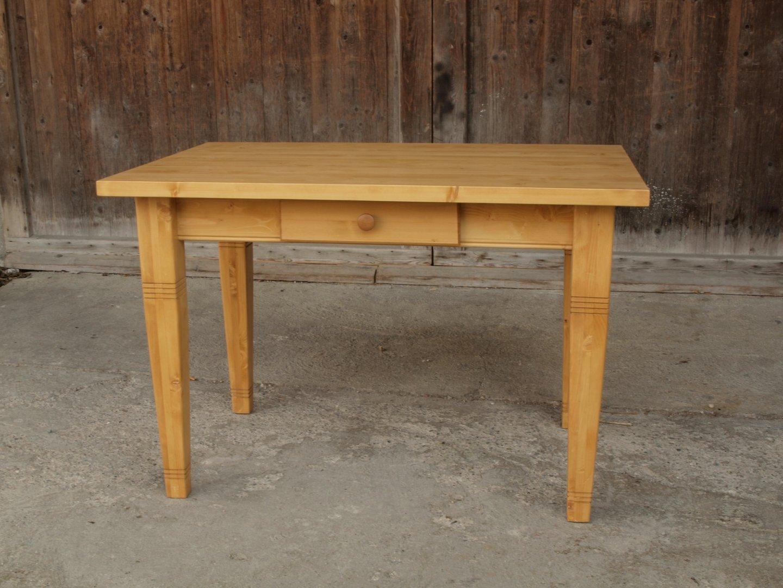 kti120q esstisch tisch massivholz fichte 120 x 80 cm nachbau alte antike bauernm bel. Black Bedroom Furniture Sets. Home Design Ideas