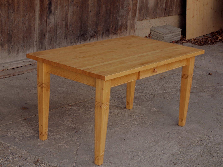Esstisch Tisch Massivholz Fichte 150 x 90 cm Nachbau  ~ Esstisch Fichte