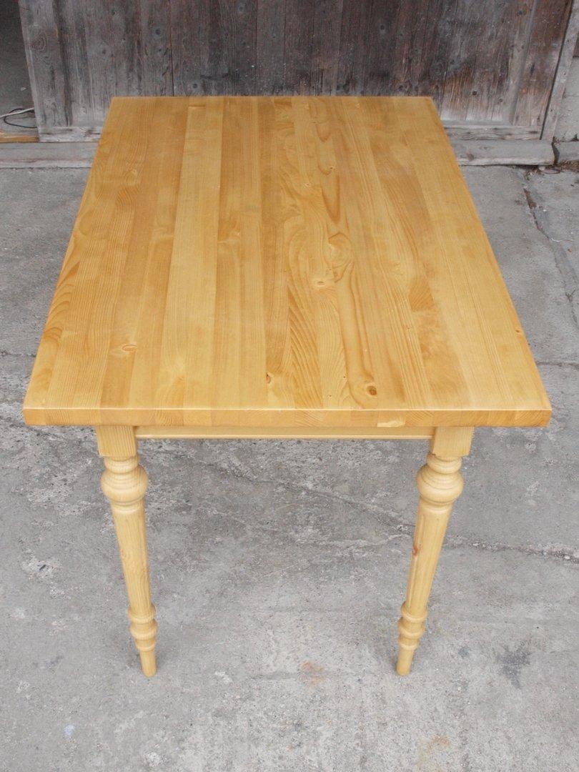 kti120g esstisch tisch massivholz fichte 120 x 80 cm nachbau alte antike bauernm bel. Black Bedroom Furniture Sets. Home Design Ideas