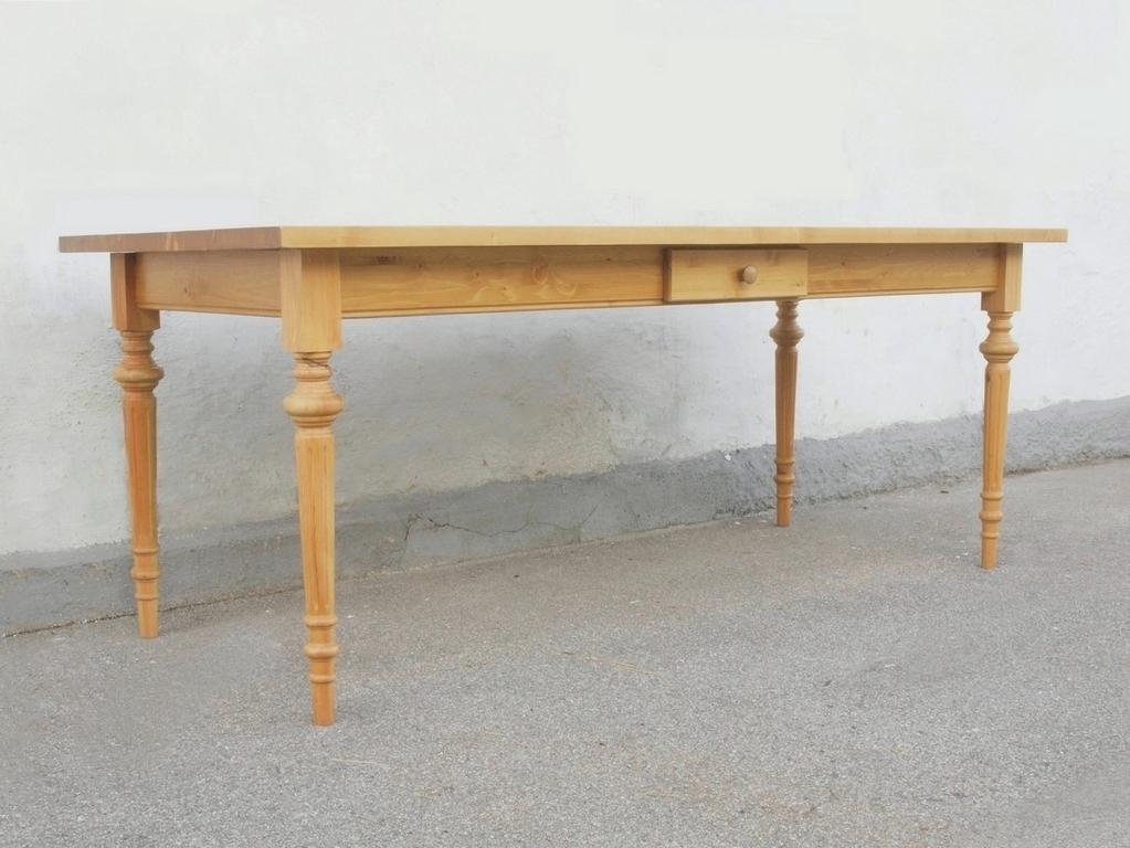 kti220g esstisch tisch massivholz fichte 220 x 95 cm nachbau alte antike bauernm bel. Black Bedroom Furniture Sets. Home Design Ideas