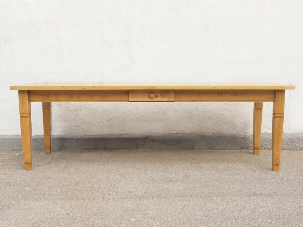 Esstisch tisch massivholz fichte 250 x 100 cm nachbau for Esstisch 100 cm