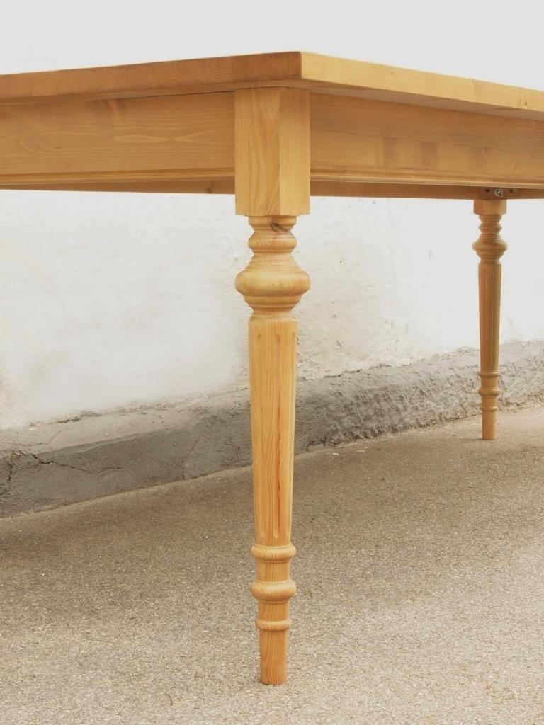 Esstisch Tisch Massivholz Fichte 250 x 100 cm Nachbau  ~ Esstisch Fichte