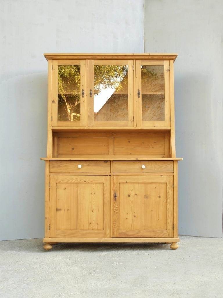 fichtenholz k chenb fett k chenschrank bauernb fett weichholzm bel alt antik 138cm alte antike. Black Bedroom Furniture Sets. Home Design Ideas