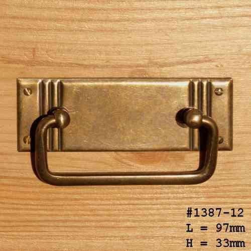 Möbelbeschlag Messing Beschlag Möbelbeschläge Griffe Möbel Schublade Möbelgriffe
